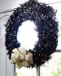 tuxedo black wreaths garland for sale treetopia