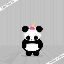 Sad Panda Meme - sad panda by necrothic on deviantart