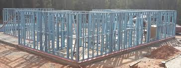 house construction of steel kit homes