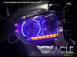 2016 toyota tundra fog light bulb 14 16 toyota tundra led colorshift halo rings headlights bulbs