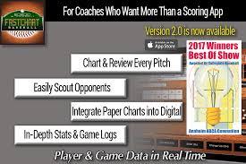 fastchart baseball charting app and coaching tool baseball charts