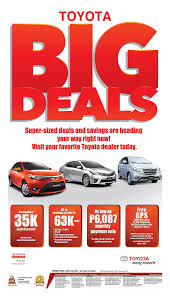 toyota financial promos