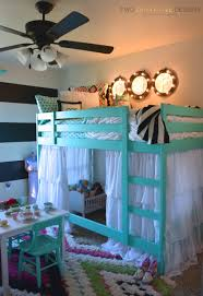loft bed hacks ikea bunk bed hack two thirty five designs