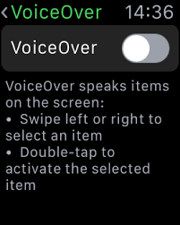 Screen Curtain Ipad How To Use Voiceover On Apple Watch