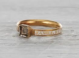 mourning ring georgian enamel mourning ring erstwhile jewelry