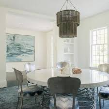 recessed dining room shelves design ideas