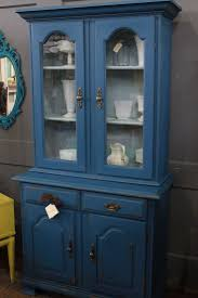 29 best china hutch ideas images on pinterest painted furniture very nice vintage hutch two pieces painted in two shades of blue latex vintage hutchsmall dining roomshutch ideaschina
