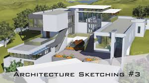 architecture sketching 3 how to design a house from rough