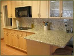 Basket Weave Kitchen Backsplash by Granite Countertop How To Paint Kitchen Cabinets Yourself White