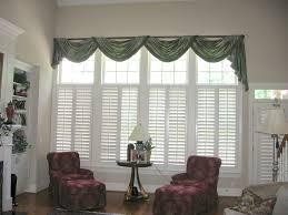 Livingroom Windows Window Treatments For Large Windows Inspiration Home Designs