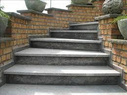 treppen im au enbereich treppen marmorwerke ag natursteine brig glis wallis