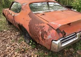 Who Is Pontiac Rusty Muscle 1969 Pontiac Gto Judge