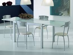 italian extendable dining table modern italian white glass extending dining table with optional