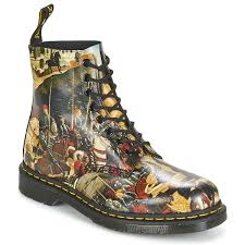 doc martens greasy dr martens ankle boots u0026 boots men pascal