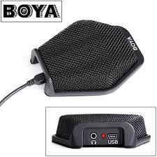 microphone de bureau boya by mc2 condensateur usb de bureau conférence ordinateur