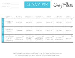 printable workout plan calendar 21 day fix workout schedule printable and hybrid calendars