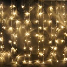 String Lights Indoors by Curtain Christmas Tree Lights Decorate The House With Beautiful