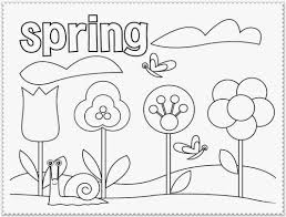 coloring spring coloring pages
