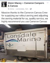 Roll Out Awnings For Campers Happy Customers U2013 Roll Out Awning U2013 Cameron Campers And Cameron Canvas