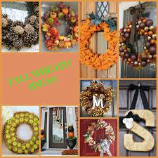 Fall Wreaths Diy Fall Wreaths U2014 Today U0027s Every Mom