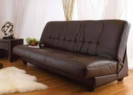 canapé clic clac cuir canapé clic clac moderne et fonctionnel pour chaque domicile