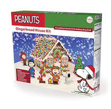 snoopy gingerbread house kit 16206 u2013 cookies united