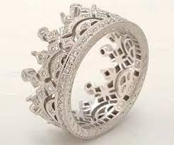 mens crown rings images Diamond crown ring jpg