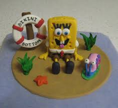 spongebob cake toppers spongebob squarepants cake topper cake by jade cakesdecor