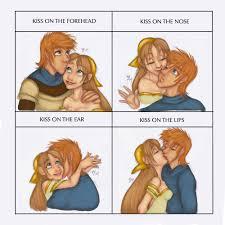 Lies Memes - kiss meme aster and dante by tell me lies on deviantart