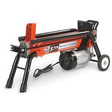 black friday log splitter log splitter 5 ton hydraulic electric wood splitter dr power