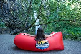 yugen outfitters inflatable lounger air hammock giant portable