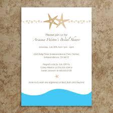 beach theme bridal shower invitation template bridal shower