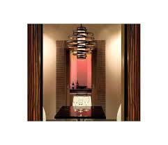 vertigo spiral bronze and gold leaf modern pendant chandelier lighting modern living room corbett lighting 113 44 bronze gold leaf vertigo 4 light 30 wide