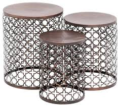 outdoor metal end tables outdoor accent tables small chic metal end patio table wonderful