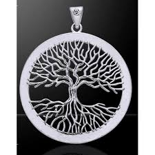 wiccan tree of pendant by mickie mueller pagan jewelry