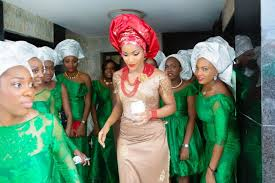traditional wedding attire traditional igbo wedding by alakija studios aisle