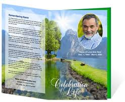 funeral program covers funeral brochure template free microsoft sle funeral program