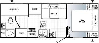 travel trailer bunks floor plans google search trailer