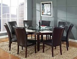 white dining room furniture dining room surprising round dining room tables for 8 white