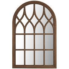 pine washed window mirror pier 1 imports