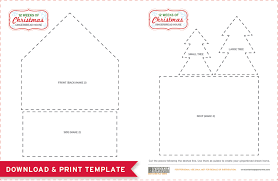 pattern for large gingerbread house free printables gingerbread house template and a delicious recipe
