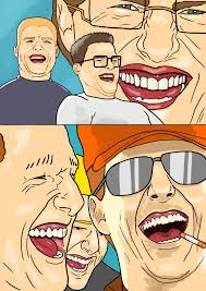 King Of The Hill Meme - king of the hill characters as tom cruise laughing kingofthehill