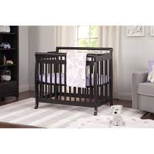 Davinci Emily Mini Crib White Davinci M4798w Emily Mini Crib White Curtain Ideas