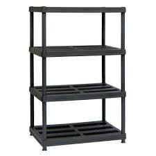 bookshelves units plastic garage shelving units garage shelves u0026 racks the