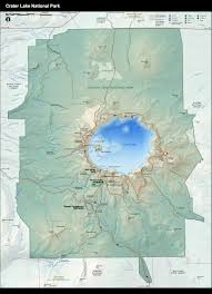 Pdf Maps Crater Lake National Park Pdf Map Full Res Maps On The Web