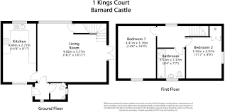 2 bedroom detached house for sale in kings court market place