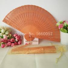 personalized folding fans 60pcs wedding gift wood fans personalized colorful sandalwood