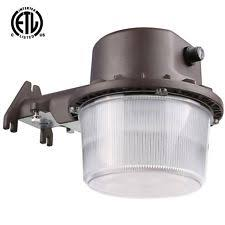 best led dusk to dawn security light 71333 led dusk dawn area light photo control security 50w 5000k ebay