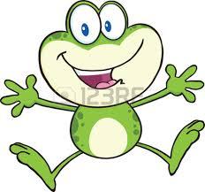 cute green frog cartoon mascot clipart panda free clipart images