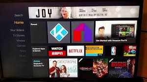 launch kodi from amazon home screen amazon fire tv stick or fire